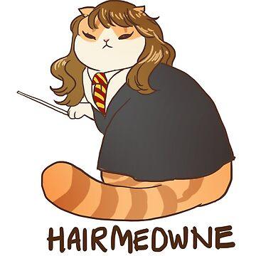 Hairmeowne Granger by derlaine