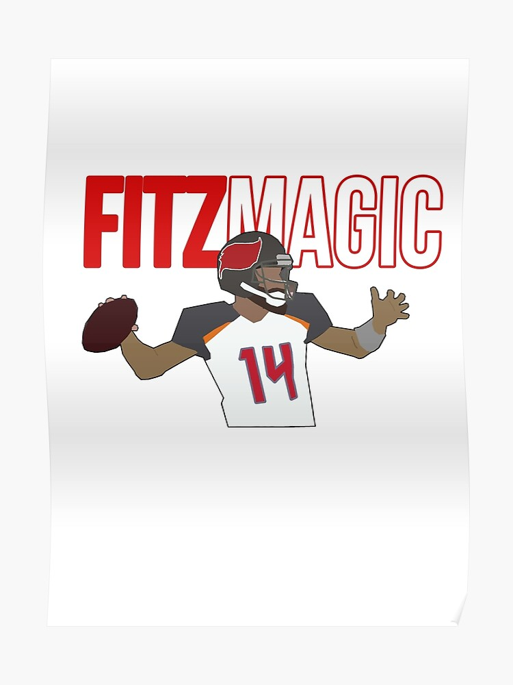 best service c47eb 1c6ef Ryan Fitzpatrick - FitzMagic | Poster