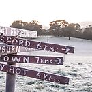 A frosty morning near Daylesford by Mitchell Harris