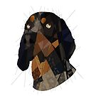 Blue Tick Coonhound by Blacklightco