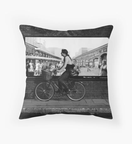 Out Of The Picture Throw Pillow