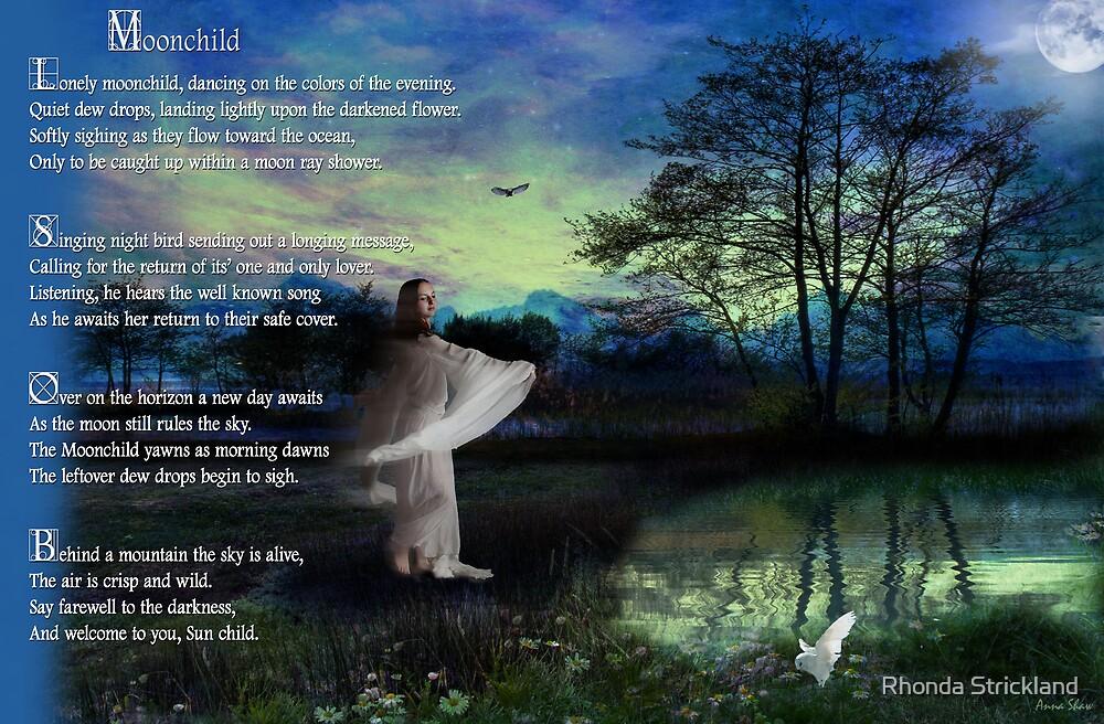 Moonchild - a collaborative work by Rhonda Strickland