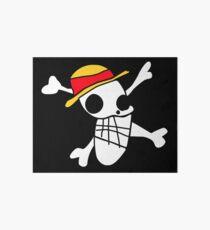 One Piece - Luffy's Badly Drawn Flag Art Board