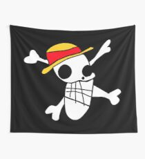 One Piece - Luffy's Badly Drawn Flag Wall Tapestry