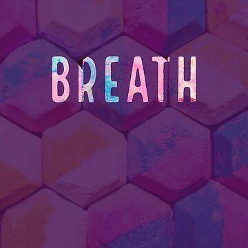 Breath abstract meditations reminder by VinyLab