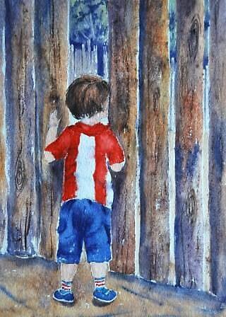 Peeping Jack by Leanne  Jones
