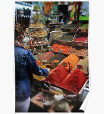 Spice Bazaar, Istanbul Poster