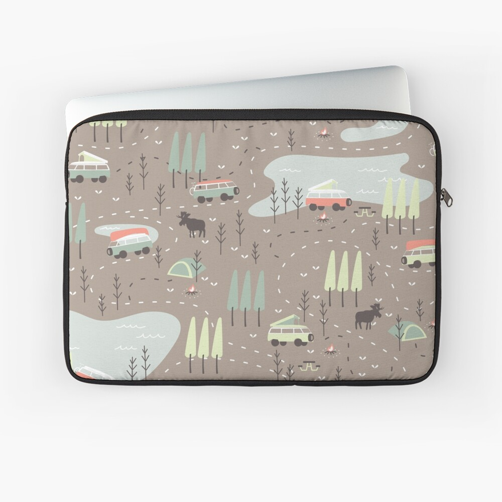 Long and Winding Road Laptop Sleeve