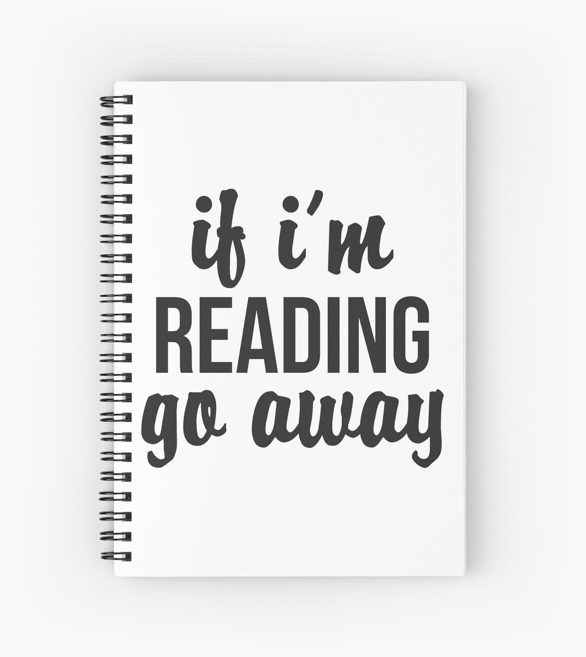 If I'm Reading, Go Away by itsaboutdes