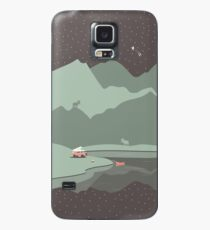 Into the Wild - Camping Scene Case/Skin for Samsung Galaxy