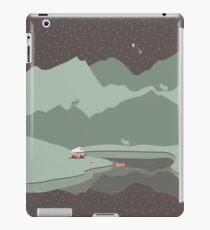 Into the Wild - Camping Scene iPad Case/Skin