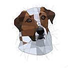 Dog Geometry by Blacklightco