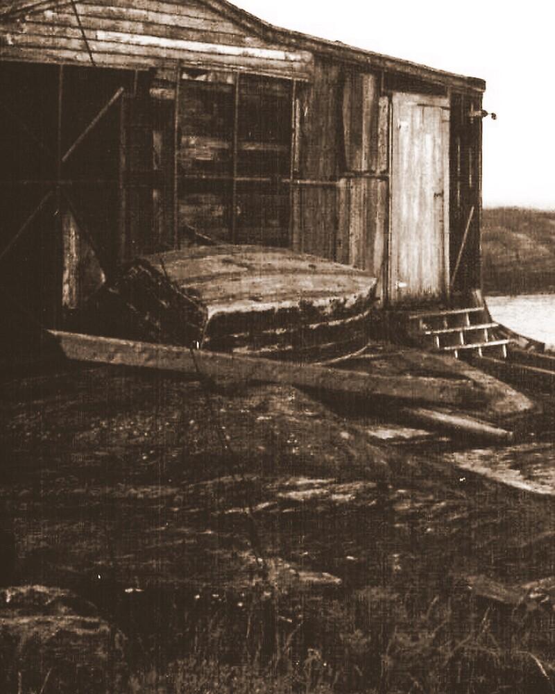 shed, nova scotia by Marie Monroe
