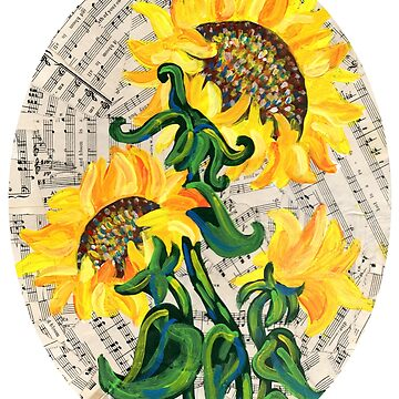 Bright Song Sunflower by missmann
