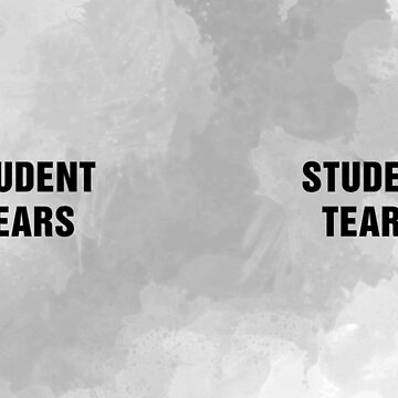 Student Tears White Mug by GrizzlyGaz