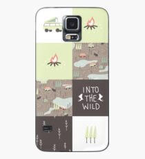 Into the Wild - Faux Quilt Pattern Case/Skin for Samsung Galaxy