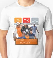 Rickie Fowler Collage Unisex T-Shirt