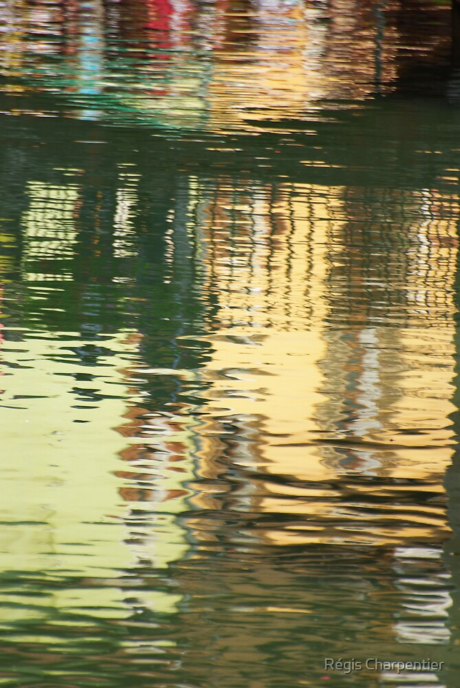 Abstract Water Reflection #1 by Régis Charpentier