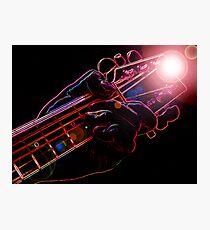 Guitar Hero Photographic Print