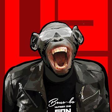 Bono-bo - Number One Fan by GR8DZINE