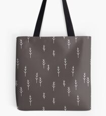 Into the Wild - Forest, Black Background Tote Bag