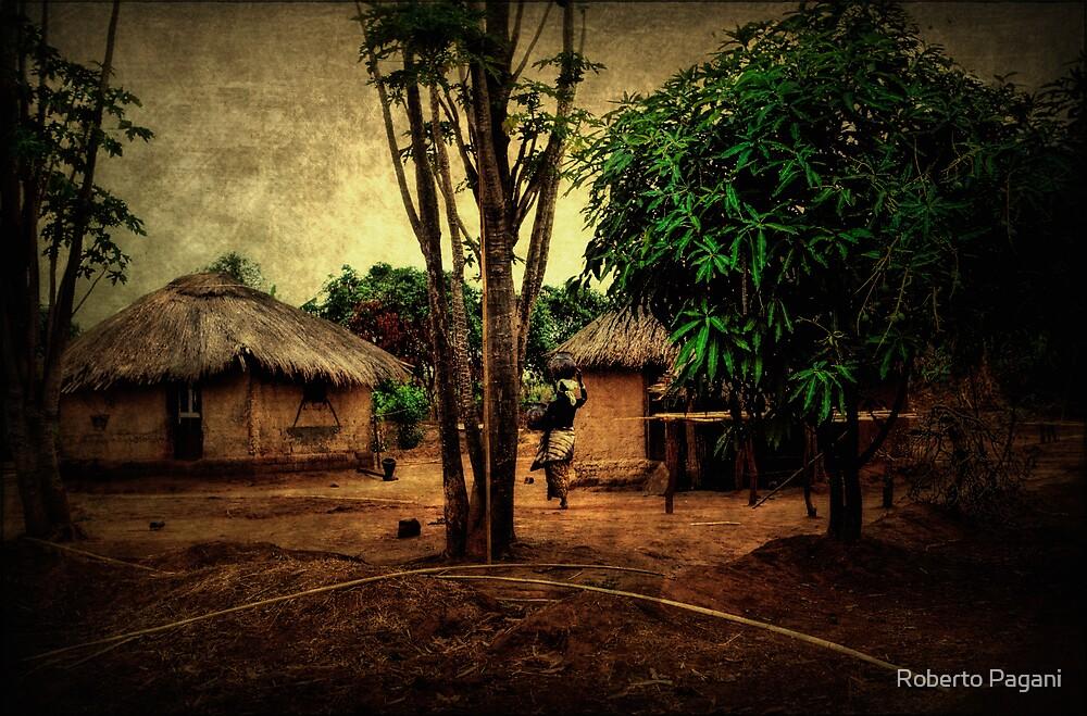 Hunts village by Roberto Pagani