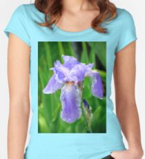 Purple Rain Women's Fitted Scoop T-Shirt
