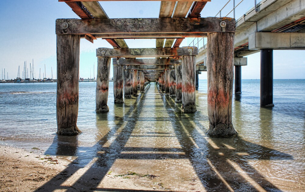 Pier of infinity by Michael Tuni