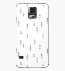 Into the Wild - Forest, White Background Case/Skin for Samsung Galaxy