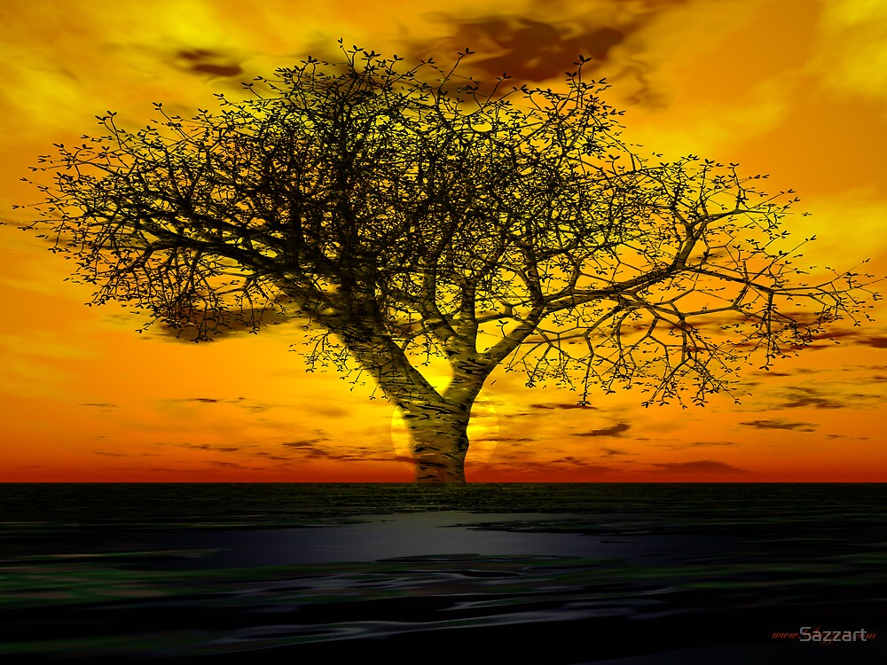 Issues- Global Warming's Visual Haiku by Sazzart