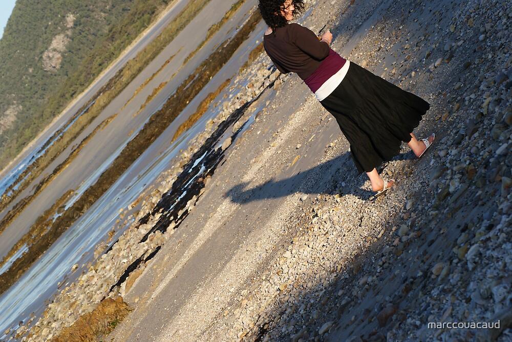 walking on rocks by marccouacaud