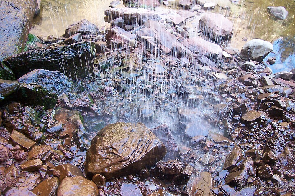 Spring Waterfall by Graham Deeprose