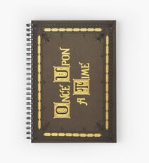 Once Upon A Time - Henry's book Spiral Notebook