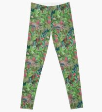 Into the Wild Emerald Forest  Leggings