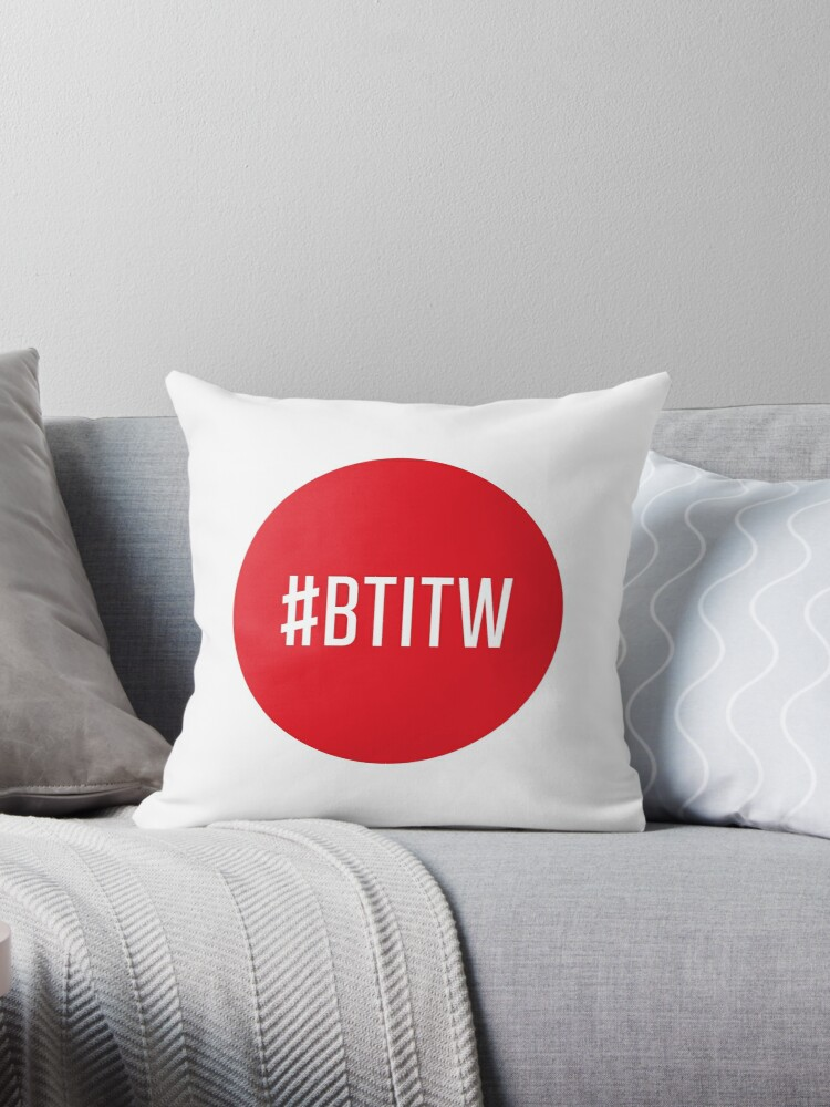 Best Pillow In The World Throw Pillows By Saramic Redbubble