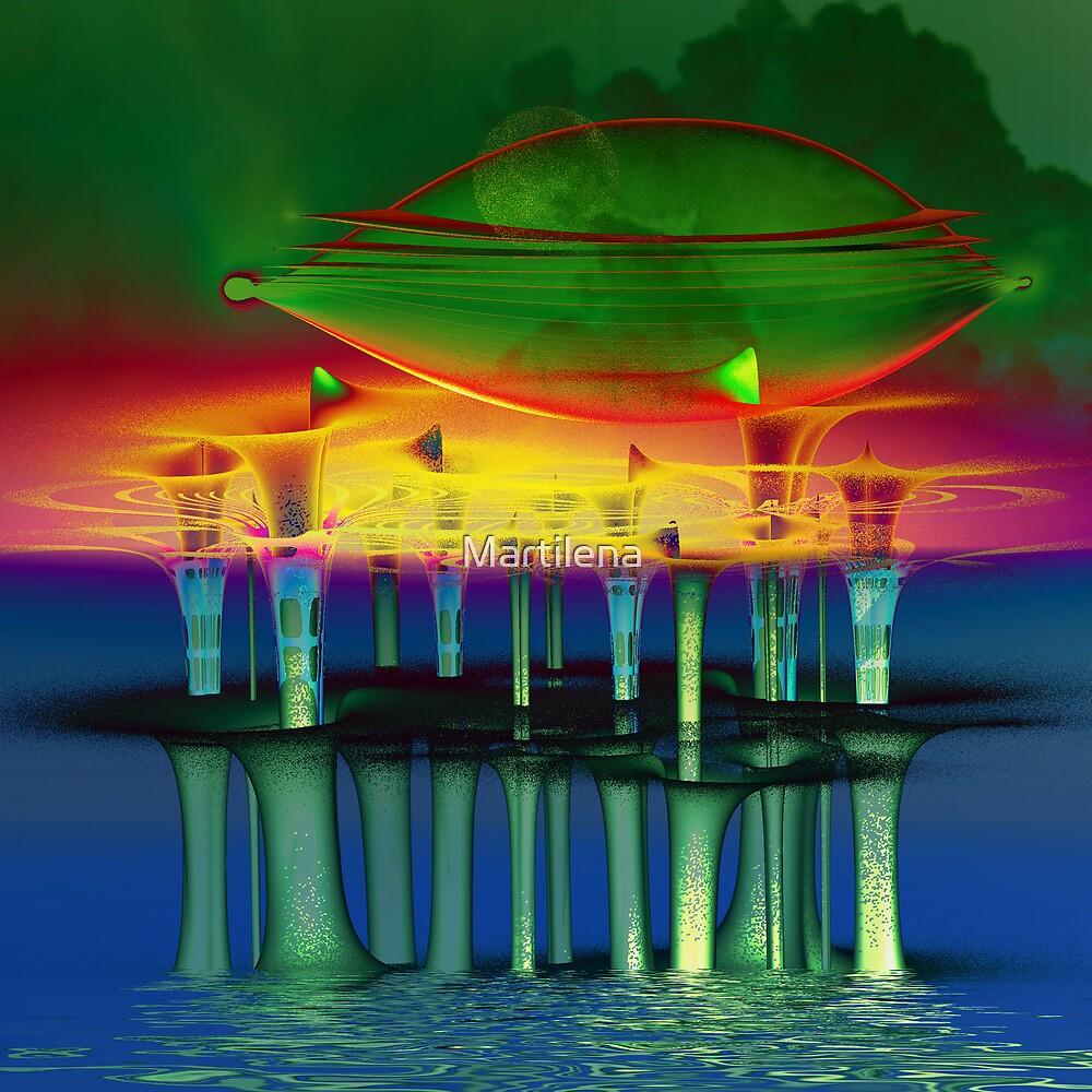 Spaceship Superstar by Martilena