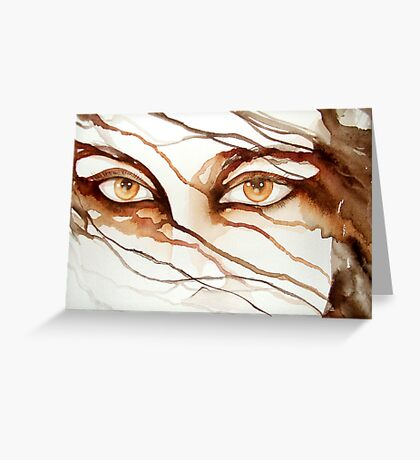 do you really see me? © 2009 patricia vannucci   Greeting Card