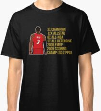 Dwyane Wade - Miami Heat Classic T-Shirt
