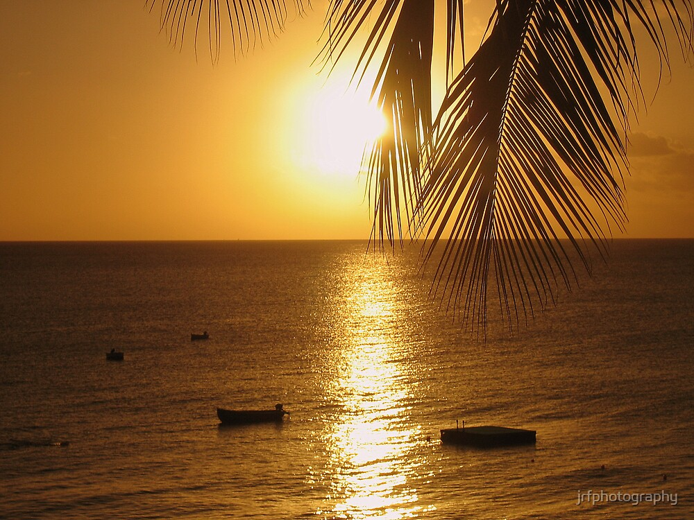 Sunset at St James, Barbados by jrfphotography