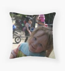 Elsie at South Bank Throw Pillow