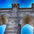 Brooklyn Bridge Tower by Dyle Warren