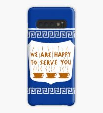 Funda/vinilo para Samsung Galaxy NYC Greek Anthora Coffee Cup Design