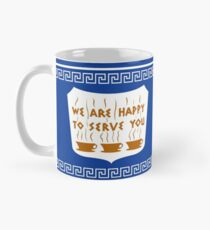 NYC Greek Anthora Coffee Cup Design Classic Mug