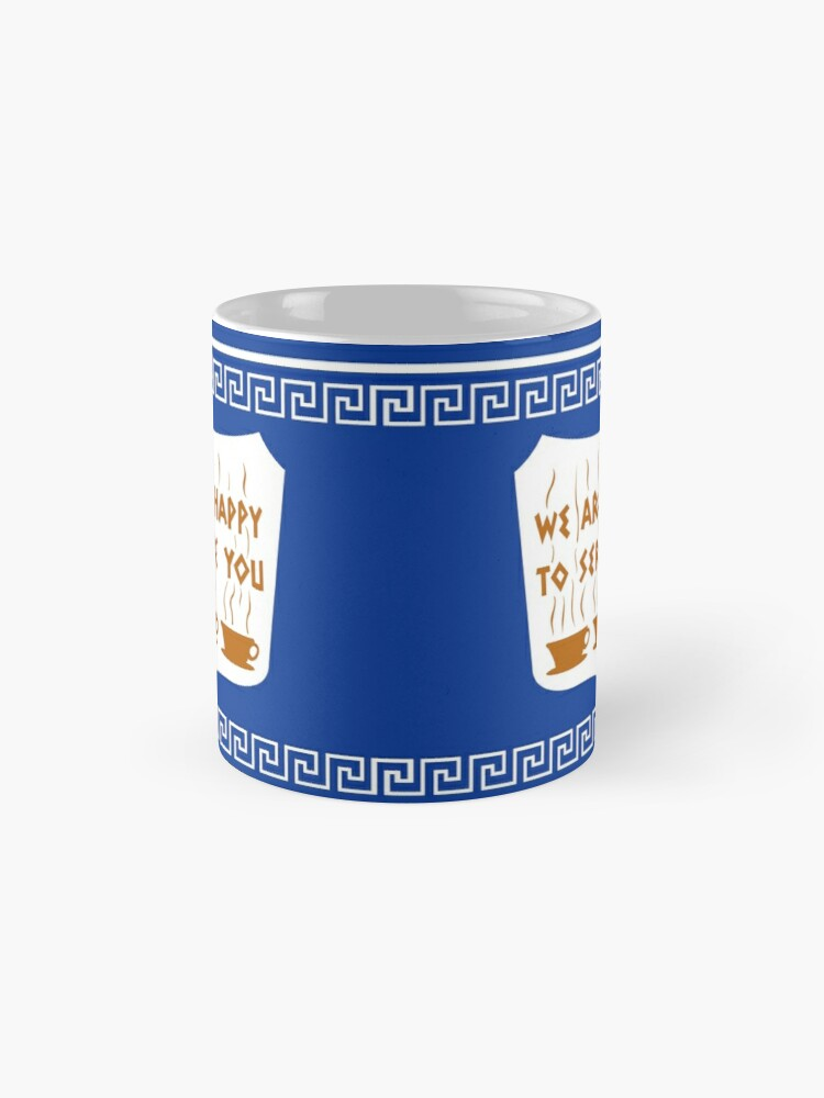 Alternate view of NYC Greek Anthora Coffee Cup Design Mug