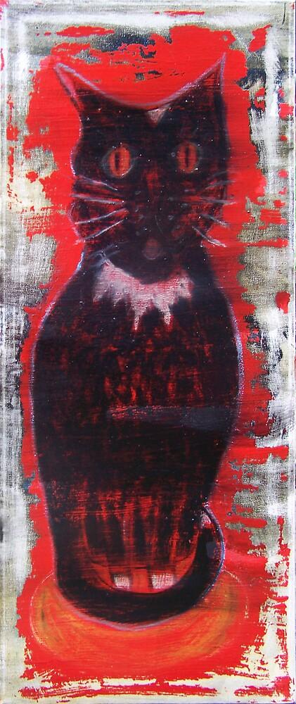 Black Cat by Roger  Settle
