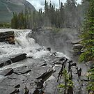 Athabasca Falls - Close Up by Dyle Warren