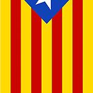 Flag of Catalunya Independence by pjwuebker