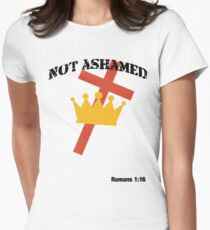 Not Ashamed (light tee) Women's Fitted T-Shirt