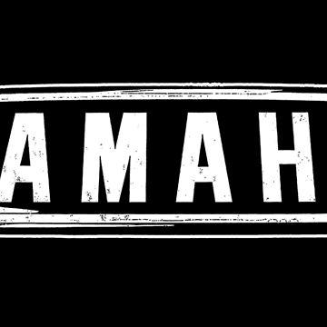 Yamaha-Motorcycle-yds7 yr5-Tank badge by carlosafmarques