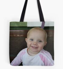 Happy Iris Tote Bag